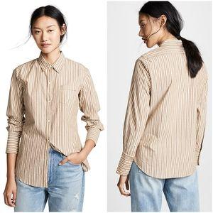 Nili Lotan NL Stripe Cotton Shirt